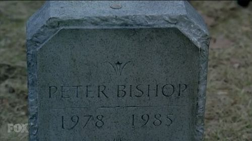 Fringe tombstone peter bishop