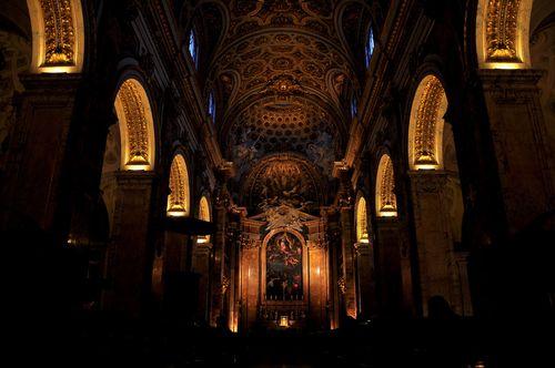 Inside san luigi dei francesi via ad_jester