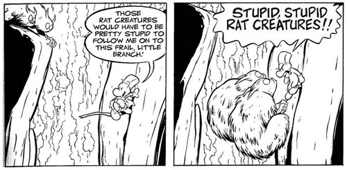 Stupid stupid rat creatures jeff smith bone