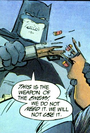 Batman the dark knight returns weapon of the enemy