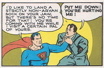 Superman vs Nazi