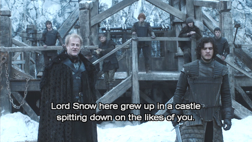 Game of thrones - lord snow00138