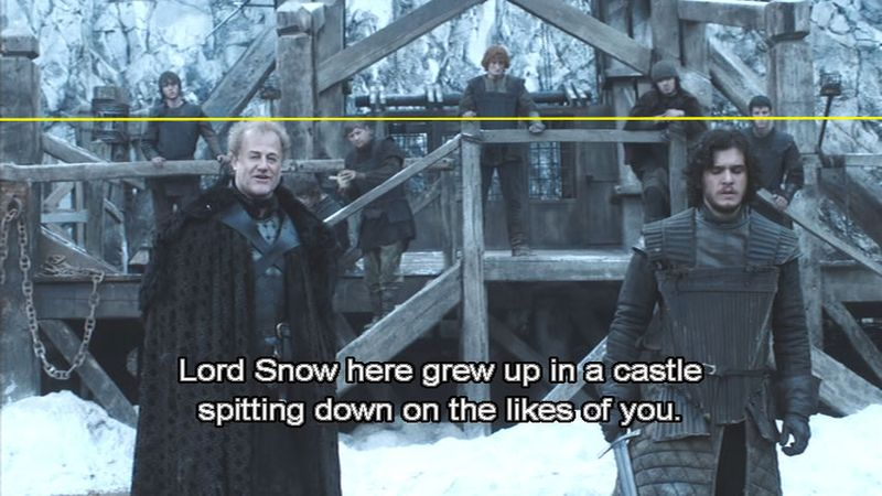 Game of thrones - lord snow00138b