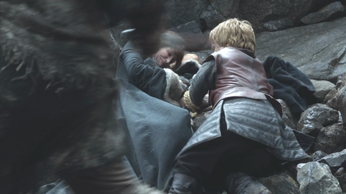 Game of thrones - wolf and lion00232