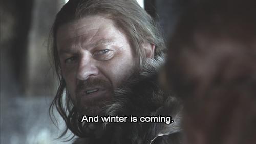 Games of thrones - winter is coming00286